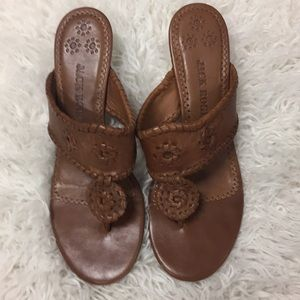 Jack Rogers Kitty Heel Sandals
